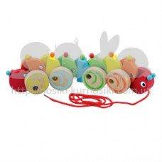 Каталка Viga Toys Гусеница 59950