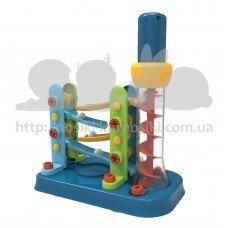 Конструктор Edu-Toys Горка-спираль с инструментами JS022
