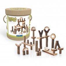 Набор блоков Guidecraft Natural Play Палки и бруски 36 шт G6770