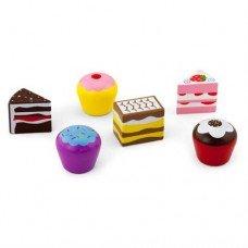 Набор кулинара Viga Toys Пирожные 6 шт 59533