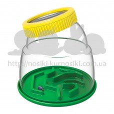 Набор натуралиста Edu-Toys Контейнер для насекомых с лупой 5x JS010