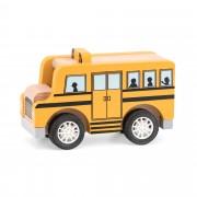 Деревянная машинка Viga Toys Школьный автобус 44514