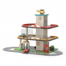 Деревянный паркинг с АЗС Viga Toys 44509