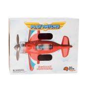 Игрушка самолет Крутись пропеллер Fat Brain Toys F2262ML красный