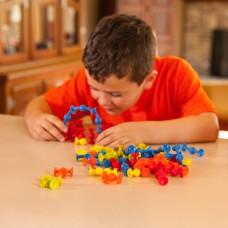 Конструктор на мини-присосках Fat Brain Toys F107ML 75 деталей
