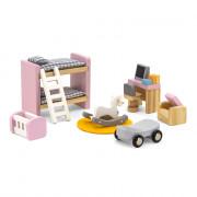 Деревянная мебель для кукол Viga Toys PolarB Детская комната 44036