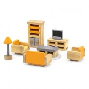 Деревянная мебель для кукол Viga Toys PolarB Гостиная 44037