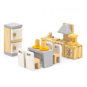 Деревянная мебель для кукол Viga Toys PolarB Кухня и столовая 44038
