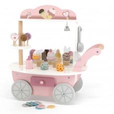 Деревянный игровой набор Viga Toys PolarB Магазин мороженого на колесах 44054