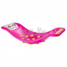 Качалка-балансир с присосками Fat Brain Toys F0953ML розовый