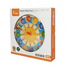 Магнитный лабиринт Viga Toys Часы 44560