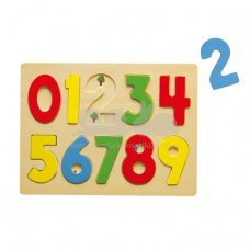 Деревянный пазл Viga Toys Цифры 58545