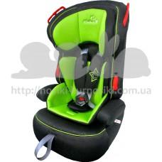 Автокресло WonderKids VALET SAFE зеленый-черный