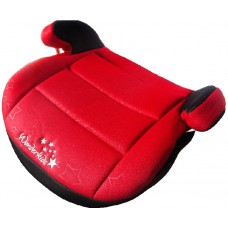 Автокресло бустер WonderKids Honey Pad красный-черный