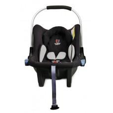 Детская автолюлька 0-9 Eternal Shield Mommy Baby black