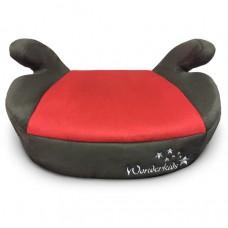 Автокресло бустер WonderKids Honey Pad красный кориченвый