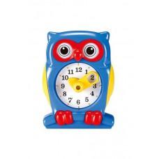 Набор для обучения игрушка Часы Сова синий