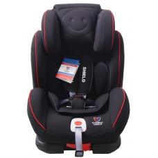 Детское автокресло 1-2-3 Honey Baby Isofix черный