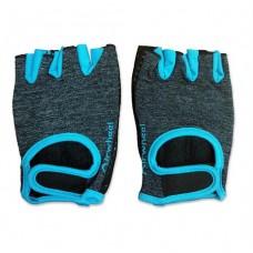 Перчатки голубые M-00-L33-1BL