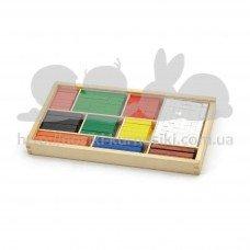 Набор для обучения  Viga Toys Математические блоки 56166