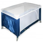 Манеж-кроватка Discovery синий