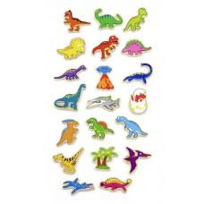 Набор магнитных фигурок Динозавры 20 шт