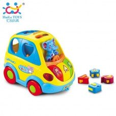 Игрушка-Игрушка развивающая сортер Умный автобус