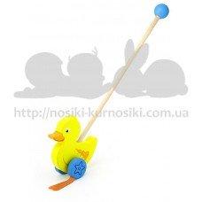 Игрушка-каталка Утенок