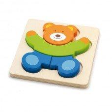 Игрушка развивающая пазл Медведь