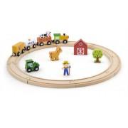 Игровой набор Железная дорога 19 деталей