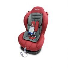 Детское автокресло 1-2 Smart Sport красный-серый