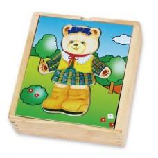 Игровой набор Гардероб медведицы
