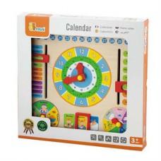 Игрушка обучающая Часы и Календарь