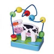 Игрушка развивающая мини лабиринт Корова
