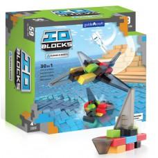Конструктор Guidecraft IO Blocks Самолеты и корабли 59 деталей