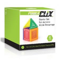 Конструктор Guidecraft PowerClix Solids Базовый набор 6 деталей