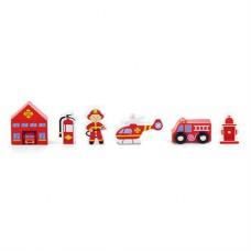 Набор к железная дорога Пожарная станция