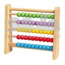 Развивающая игрушка Счеты 5 цветов