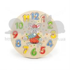 Развивающая игрушка Пазлы Часы