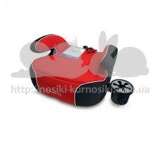Детское автокресло бустер Penguin Pad красный