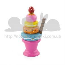 Игровой набор Мороженное с фруктами Клубничка