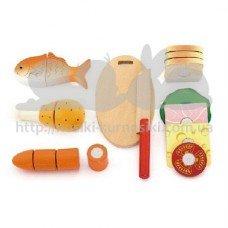 Игровой набор пазлы продукты для ланча