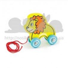 Игрушка-каталка Лев