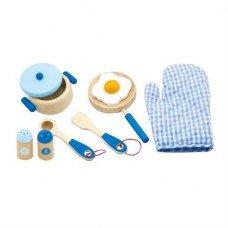 Игровой набор Маленький Повар синий