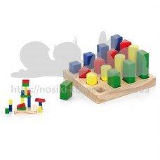 Набор деревянных блоков Форма и размер