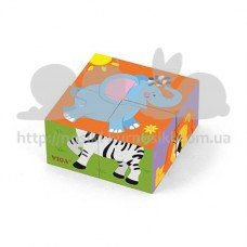 Пазлы-кубики Сафари
