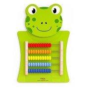 Развивающая игрушка бизиборд Лягушка со счетами