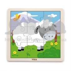 Пазл деревянный Овца
