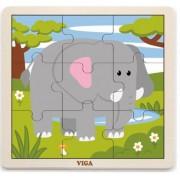 Пазл деревянный Слон