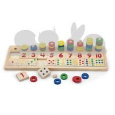 Развивающая игрушка Цифры и счет